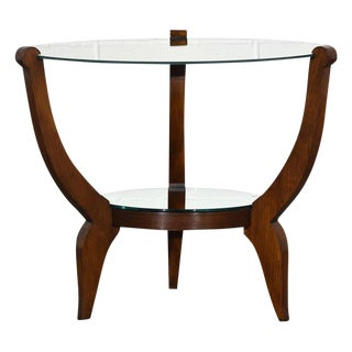 Traditional French Art Deco-Style Side Table For Sale