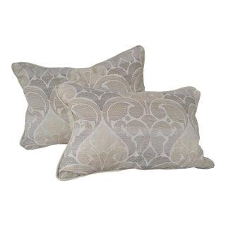 Contemporary Neutral Palette Pillows - a Pair For Sale