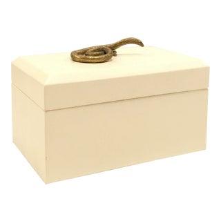 Global Views Modern Asp White Box For Sale
