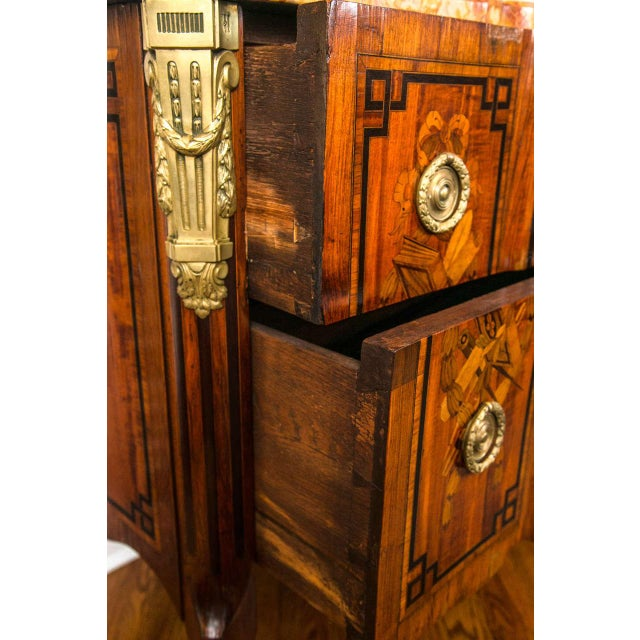 19th Century French Marquetry Commode For Sale In New York - Image 6 of 10
