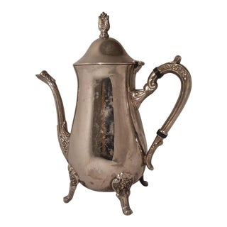 Vintage F.B Rogers Silver Plated Tea Pot For Sale