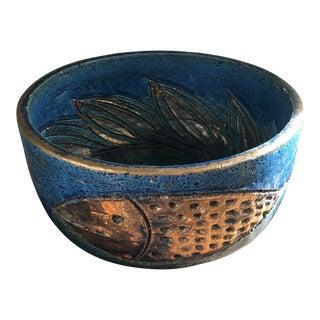 Aldo Londi Italian Mid Century Decorative Bowl For Sale