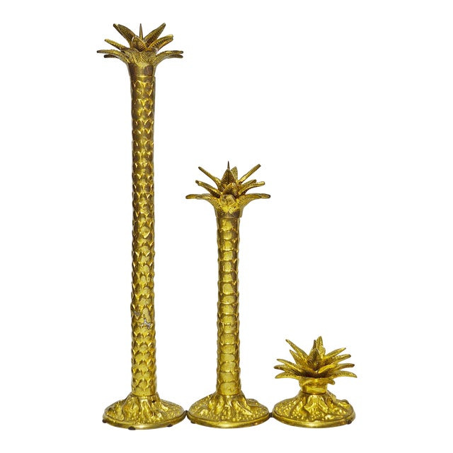 Maitland Smith Candlesticks - Set of 3 - Image 1 of 5