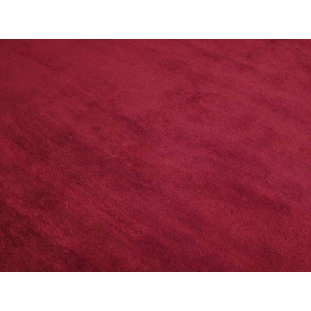 Fantastic Red Tulu Carpet For Sale In New York - Image 6 of 8