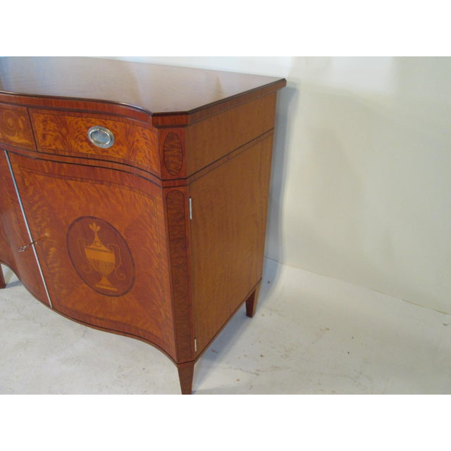 1940s 1940s Vintage Schmieg and Kotzian Satinwood Chest For Sale - Image 5 of 12