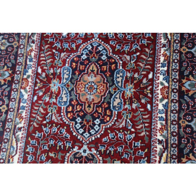 Textile Hand Knotted Kerman Rug - 3′ × 5′11″ For Sale - Image 7 of 7