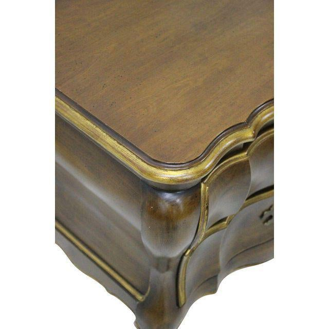 French Provincial French Provincial Bombay Nightstands - A Pair For Sale - Image 3 of 3