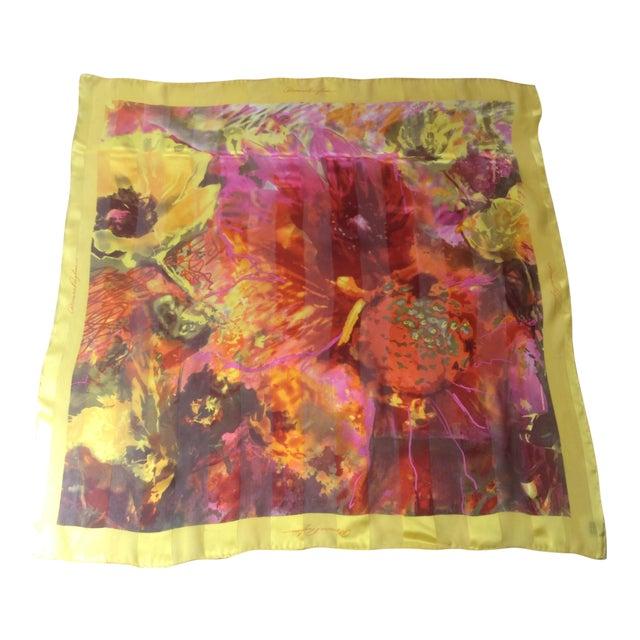 Dominic Pangborn Silk Scarf For Sale