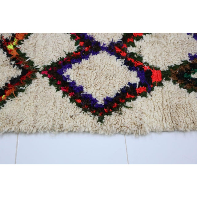 1980s 1980s Vintage Azilal Rug- 2′7″ × 6′5″ For Sale - Image 5 of 6