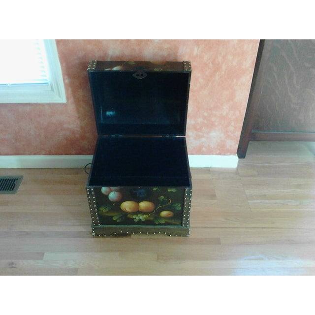 Hand-Painted Storage Chest - Image 7 of 7