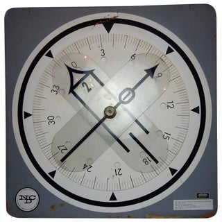 Enlarged Radio Magnetic Indicator u.s. Naval Training Aid, Circa 1960 For Sale