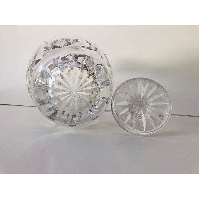 1980s Vintage Atlantis Cut Crystal Decanter For Sale - Image 5 of 6