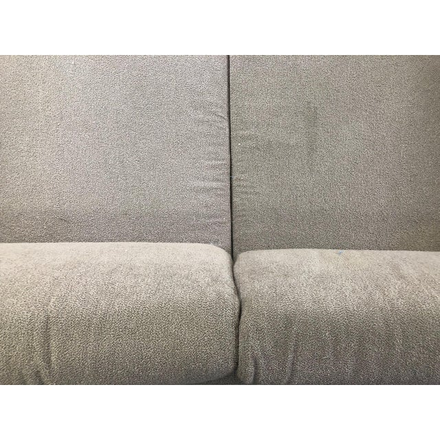 Ligne Roset Styled Sectional Modern Sofa With Chrome Base For Sale - Image 10 of 13