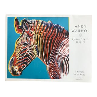 "Warhol ""Endangered Species"" Print Portfolio For Sale"