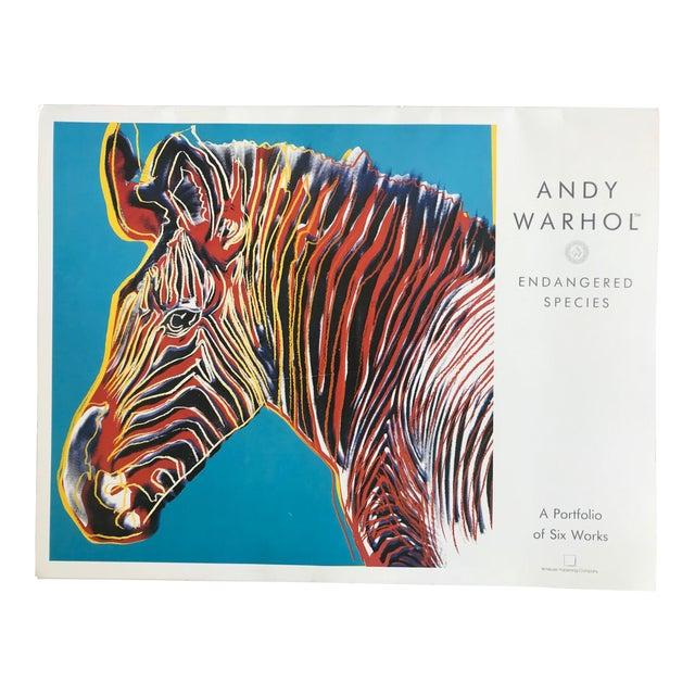 """Warhol """"Endangered Species"""" Print Portfolio For Sale"""