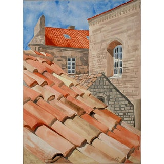 'Dubrovnik Roofs' Giclee Print o For Sale