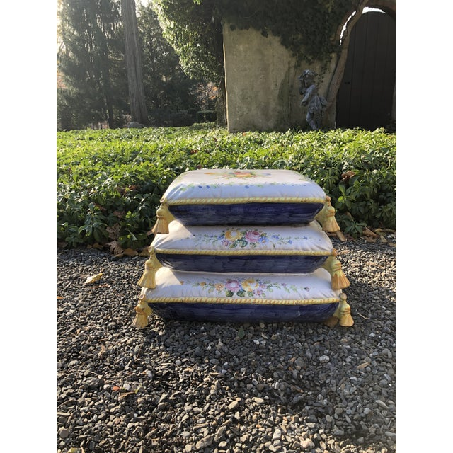 1960s Vintage Ceramic Garden Seat For Sale - Image 13 of 13