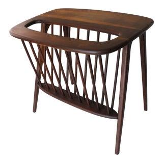 1960s Mid Century Modern Arthur Umanoff Magazine Side Table For Sale