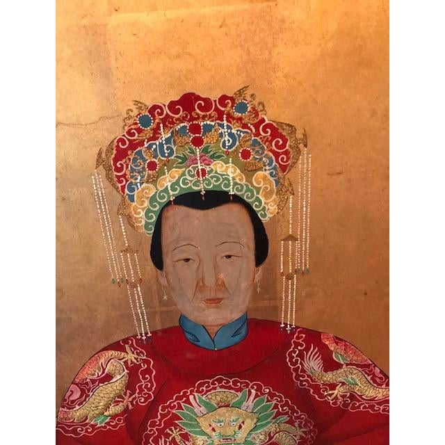 Chinese Ancestral Portrait - Image 3 of 4