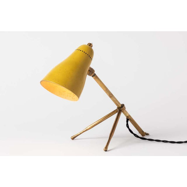 "O-Luce 1950s Giuseppe Ostuni ""Ochetta"" Wall or Table Lamps for O-Luce - a Pair For Sale - Image 4 of 13"
