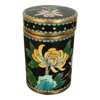 Antique Cloisonné Ginger Jar/Urn For Sale