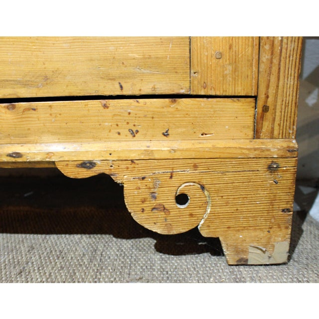 Mid 19th Century Pine Dresser For Sale - Image 5 of 8