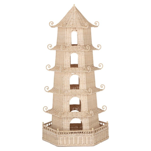 Tall Pagoda For Sale In West Palm - Image 6 of 6