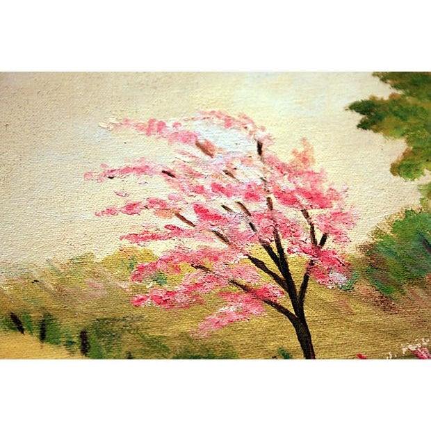 Original Framed Landscape Painting - Image 4 of 5