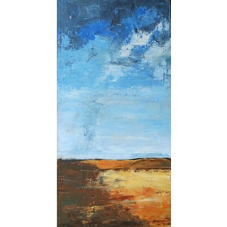 """Laurie MacMillan """"Between Here and There"""" Abstract Landscape For Sale"""