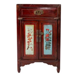Vintage Chinese Nightstand For Sale