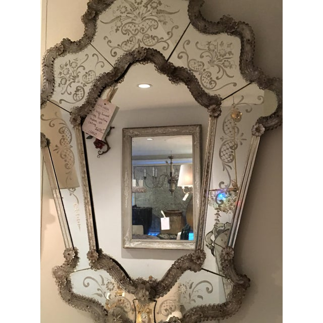 Venetian Mirror For Sale - Image 4 of 5