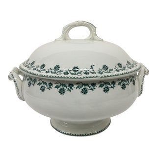 Antique French Soup Tureen For Sale