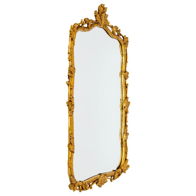 Milch Milch & Son Gilded Oak Leaf Mirror For Sale - Image 4 of 9
