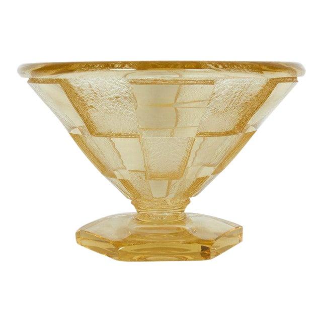 Art Deco Large and Important Daum Nancy Vase For Sale