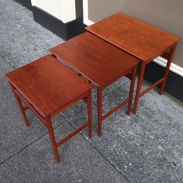 Hans Wegner Nesting Tables - Set of 3 - Image 7 of 11