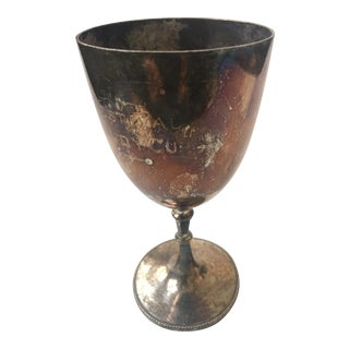 Old English Silver Plated Festival Study Trophy