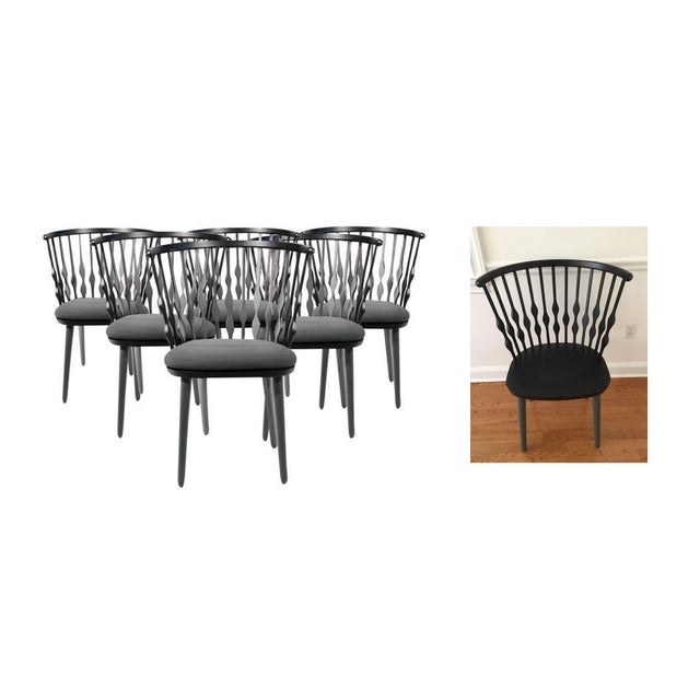Patricia Urquiola Nub Armchairs - Set of 6 For Sale - Image 10 of 10