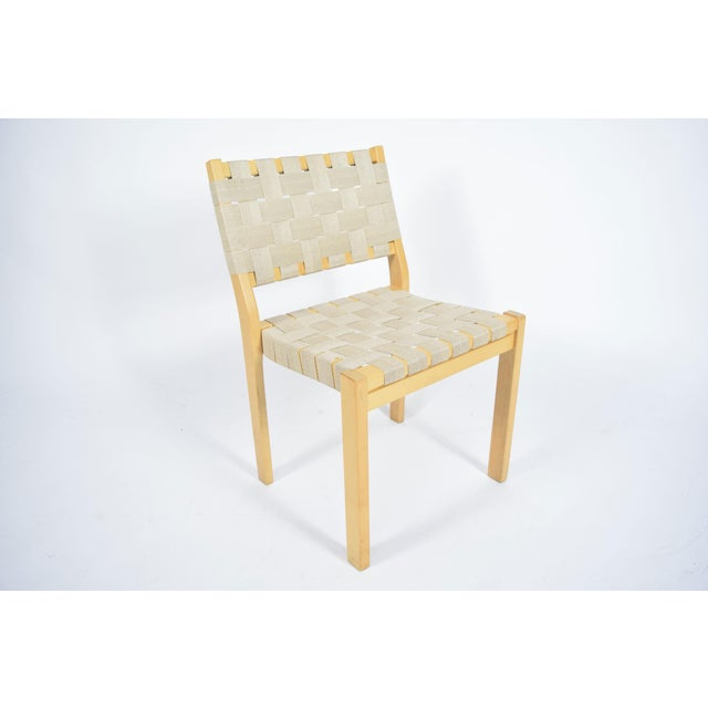1990s Alvar Aalto 615 Chairs - Set of 8 For Sale - Image 5 of 8