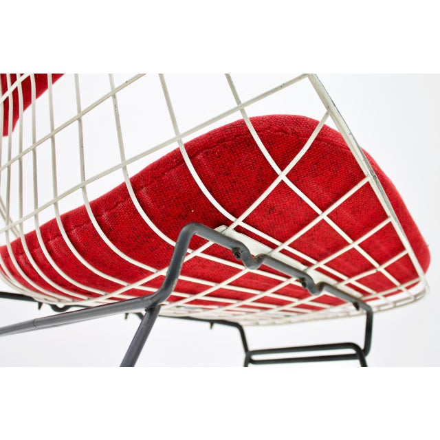 Metal Early Wire Chair by Cees Braakman for Pastoe, 1958 For Sale - Image 7 of 12