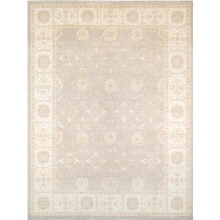 "Pasargad Ferehan Wool Area Rug - 9'10"" X 13' 8"" For Sale"