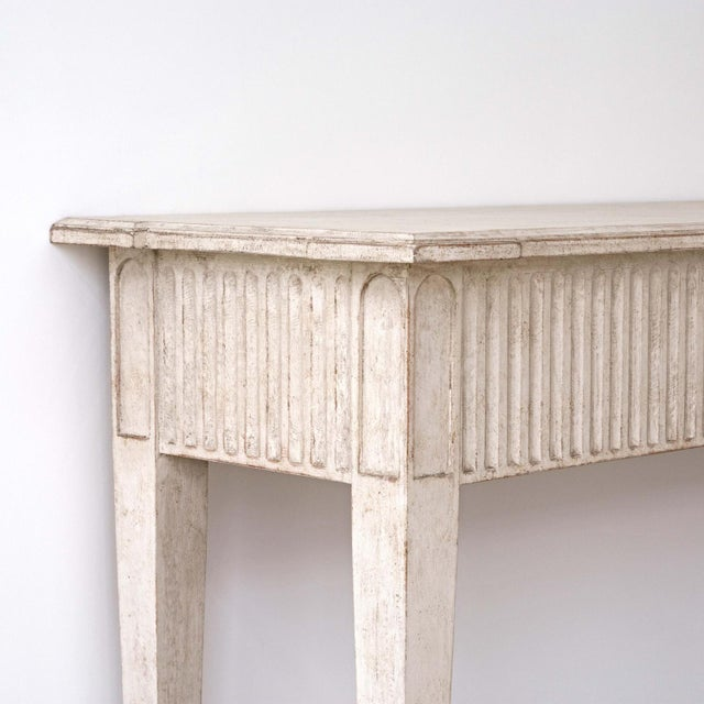 Gustavian (Swedish) Göran Swedish Console Table For Sale - Image 3 of 8