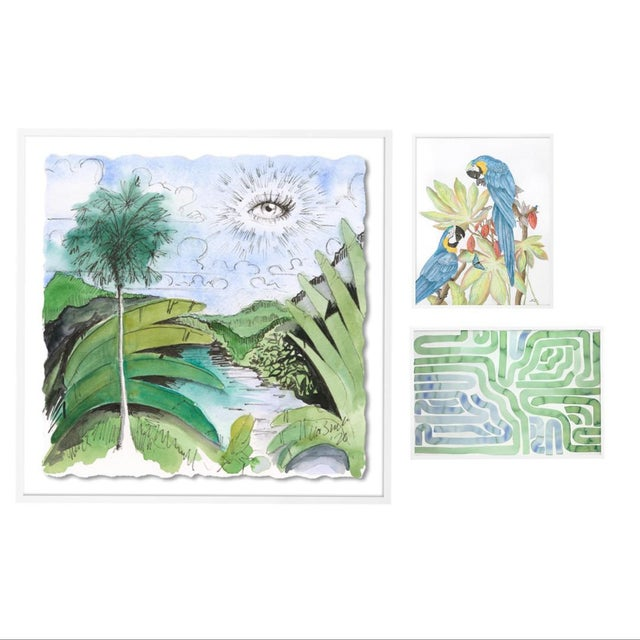 Lanai Gallery Wall, Set of 3 For Sale - Image 10 of 10