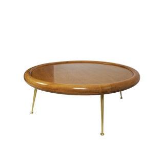 T.H. Robsjohn-Gibbings Round Coffee Table for Widdicomb For Sale
