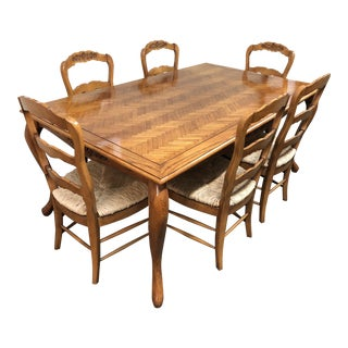 Fremarc Chateau/Country Dining Set - Set of 7