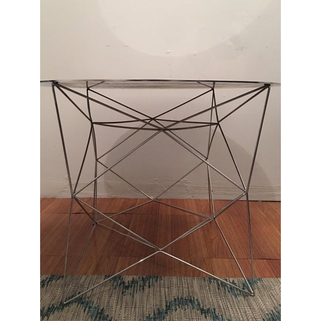 West Elm Mirrored Coffee Table - Image 2 of 4