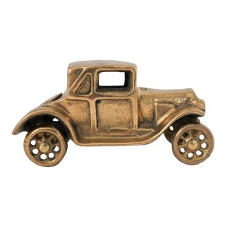 Small Brass Car For Sale