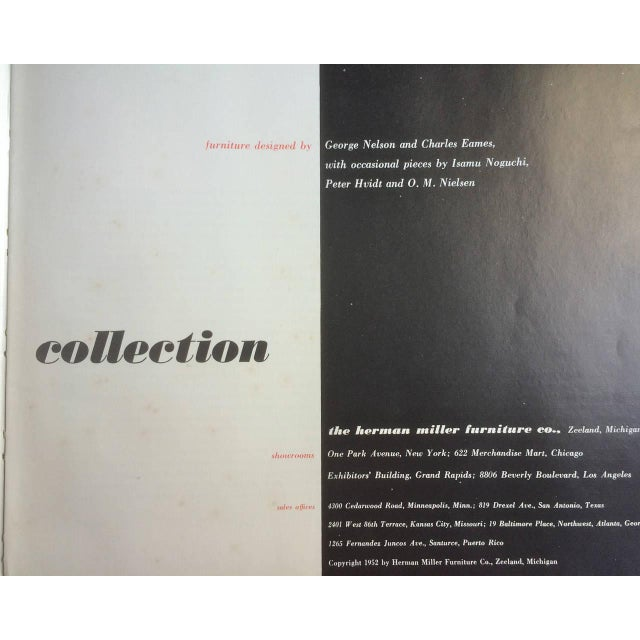 Herman Miller The Herman Miller Collection 1952 Catalog For Sale - Image 4 of 10