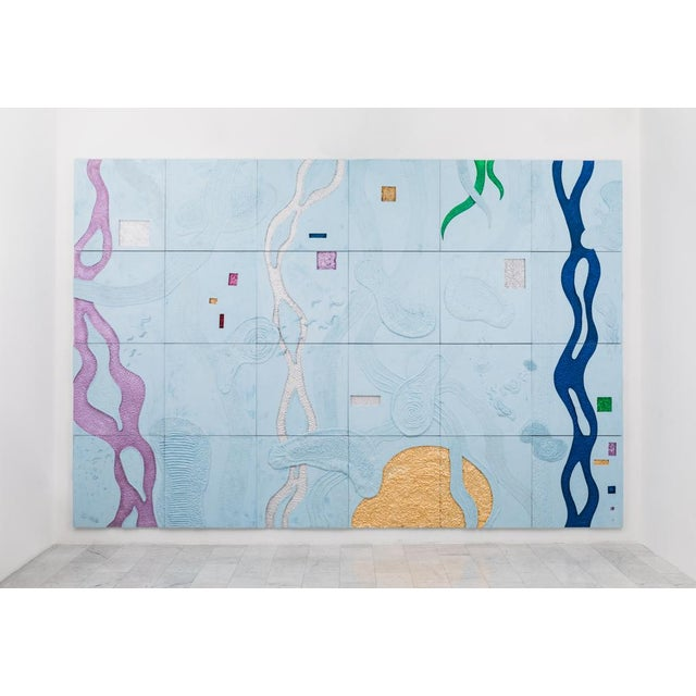 Brecht Wright Gander, Concrete Occlusion Wall Mural, Usa, 2019 For Sale - Image 11 of 11