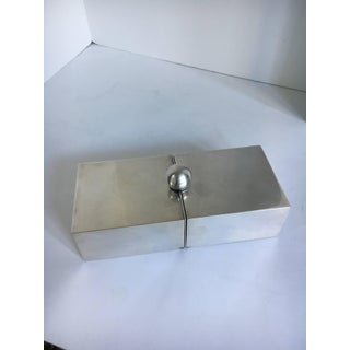 Silver Plate Dual Purpose Collapsible Box Preview
