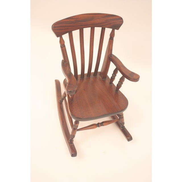 Winsor-Style Doll Rocking Chair - Image 5 of 6